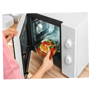 Простой уход за микроволновой печью
