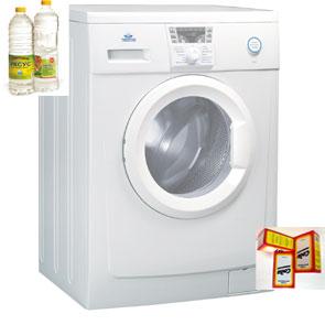 Эффективна ли очистка стиральной машины уксусом и содой